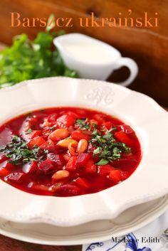 barszcz ukraiński Chana Masala, Chili, Ethnic Recipes, Food, Chile, Essen, Meals, Chilis, Yemek