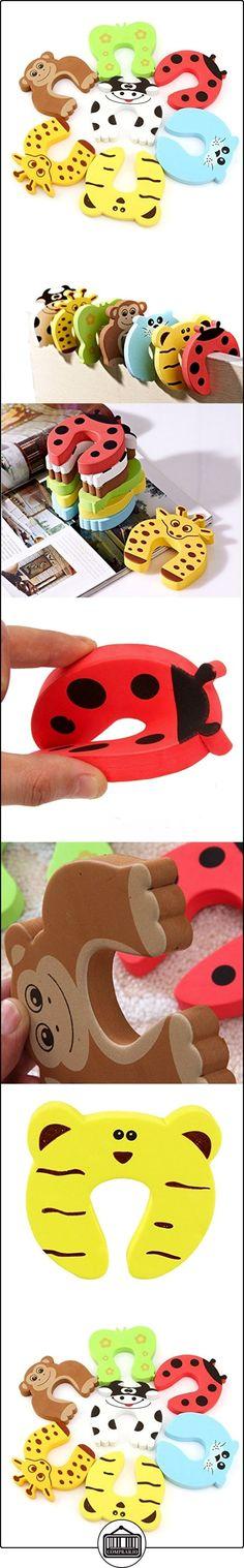 FunYoung Espuma tope de puerta Tiermotive Tope de puerta de protección de dedos para la seguridad del niño del bebé  ✿ Seguridad para tu bebé - (Protege a tus hijos) ✿ ▬► Ver oferta: http://comprar.io/goto/B01EO5GK7S