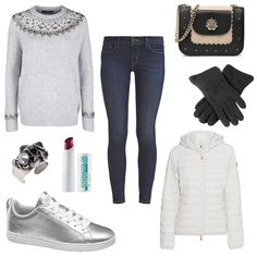 OneOutfitPerDay 2016-11-30 - #ootd #outfit #fashion #oneoutfitperday #fashionblogger #fashionbloggerde #frauenoutfit #herbstoutfit - Frauen Outfit Herbst Outfit Outfit des Tages Winter Outfit adidas Adidas Neo Blonde No. 8 Handtaschen Hydracolor Jeans Konplott Levi's Love Moschino Ring rose SAVE THE DUCK Schwarz Silber Skinny Sneaker Strickpullover Waterfalls Weikert-Handschuhe