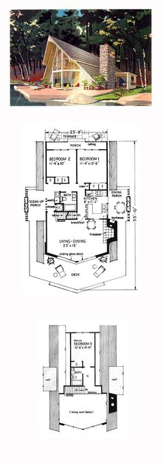 Plan 80878PM Dramatic Contemporary with Second Floor Deck Modern
