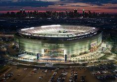 Metlife Stadium Rutherford, NJ April, 2011