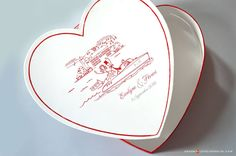 Cet article Urne mariage Coeur<br> La Beauté d'Annecy est apparu en premier sur L'Atelier d'Elsa Faire-part - faire-part de mariage et de naissance créé sur mesure, papeterie originale Jour J et carterie évènementielle.
