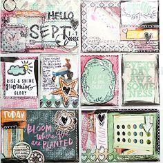 Heather Greenwood Designs | Week 36 2014 weekly pocket scrapbook project | #mixedmedia #pocketscrapbooking #doodles