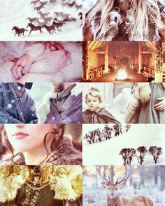 Queen Lothiriel and winter in Rohan