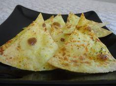 Nachos Caseiros - Veja mais em: http://www.cybercook.com.br/receita-de-nachos-caseiros.html?codigo=118375