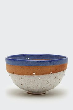 Blue Striped Berry Washer by Natan Moss | Lawson Fenning