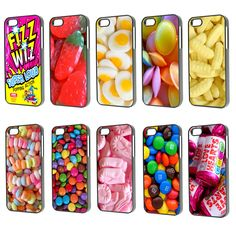 Cell Phone Cases - Cool food candy sweets chocolate love hearts Phone Case Cover iPhone 4 5 - Welcome to the Cell Phone Cases Store, where you'll find great prices on a wide range of different cases for your cell phone (IPhone - Samsung) Candy Phone Cases, Food Phone Cases, Cute Phone Cases, Iphone Phone Cases, 4s Cases, Coque Ipod, Telephone Samsung, Accessoires Iphone, Gadgets