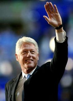Bill Clinton (William Jefferson Clinton) - 42nd President of the United States,1993 - 2001.