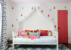 Love the pops of color from our friends @Sherry S @ Young House Love #BabyCenterBlog