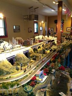 Cape May Model Trains, Cape May Picture: excellent exhibit! - Check out TripAdvisor members' candid photos and videos of Cape May Model Trains Ho Model Trains, Ho Trains, Scale Models, Train Ho, Train Route, Train Miniature, Escala Ho, Lionel Train Sets, Lionel Trains Layout