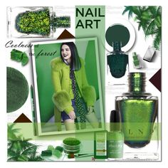 """Nail ART: GREENERY"" by sweta-gupta ❤ liked on Polyvore featuring beauty, Lipstick Queen, Wet n Wild, Ardency Inn, Andalou, Burberry, Smith & Cult, polyvoreeditorial, polyvorecontest and nailedit"