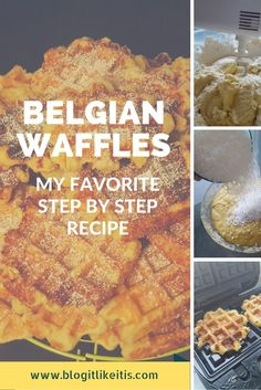 My family loves all things that fall into the category Pancakes and Waffles. One of the family favorites, hands down, is when I make Belgian Waffles! The balance of the flavorful dough and the coa…