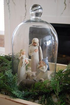 Cloche idea for Christmas
