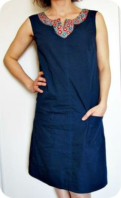The Summer - Sophie& Tricomonde - MLM Patrons - - L'Estivale - Le Tricomonde de Sophie Dress The MLM Patrons Summer - Linen Dresses, Casual Dresses, Looks Plus Size, African Dresses For Women, Mode Style, Refashion, Fashion Outfits, Womens Fashion, Pretty Outfits