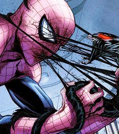Spider-Man vs symbiote