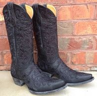 Old Gringo Clarise Black Boots L1266-5 Picture