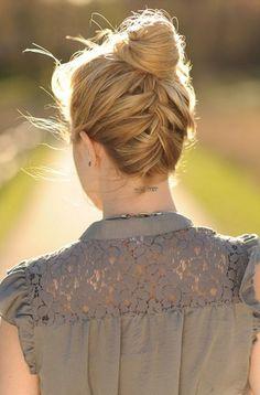 hairstyles for medium length hair braided hair