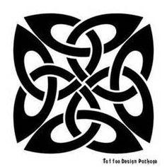 Cool Celtic Tattoo Design