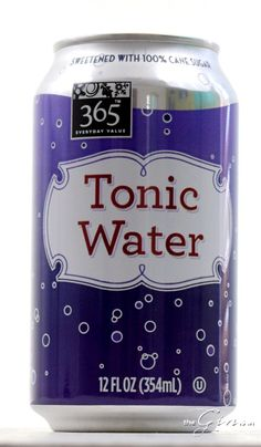 "In 2010 I raved about 365 Tonic Water. ""Less sweet,"" and ""less cloying"" than other Tonic Water, Gin And Tonic, Whole Food Recipes, Drinks"