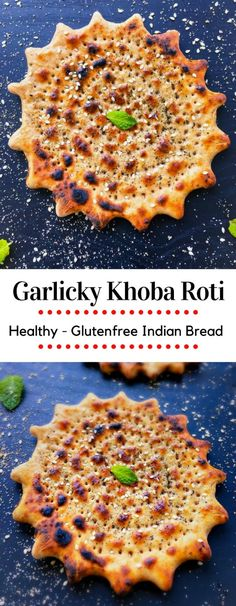 Garlicky Khoba Roti - Healthy Glutenfree Indian Bread : Delicious and quick Indian roti made on stovetop within 10 minutes. Usually served with hot curry or col