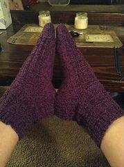 Ravelry: athena78's (Mostly) Ridge Rib Socks