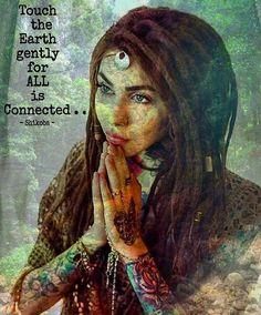 Touch the Earth🌈Namaste' Namaste, Psy Art, Mystique, Divine Feminine, Sacred Feminine, Spiritual Growth, Spiritual Needs, Spiritual Awareness, Spiritual Quotes