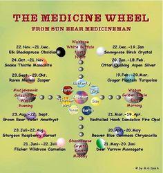 Sun Bear's Medicine Wheel. by theresa