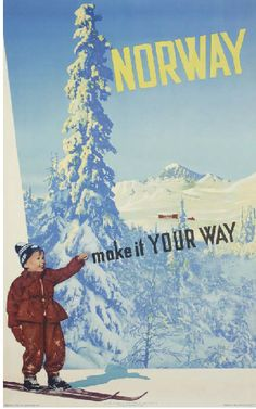 Norway - Make it your way - 1952 - (Nebo & Wilse) -