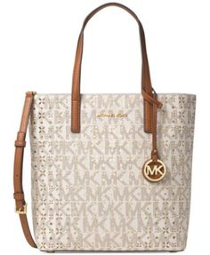 b1040c1f375e50 MICHAEL Michael Kors Signature Hayley Medium North South Top Zip Bag-in-Bag  Tote