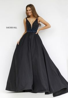 Sherri HIll #32336 in black or plum