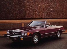 Mercedes Benz 380SL 1983.