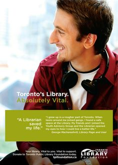 George's story inspires us to continue in our work to enhance the library to be a safe haven for children and teens, an alternative to the realities that many of them face.