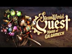 Triumph over evil with the hand you're dealt in SteamWorld Quest: The creative SteamWorld card battle RPG. Out Now on Nintendo Switch and PC! Robots Steampunk, Nintendo Switch, Netflix Review, Dragons, Game Informer, Latest Video Games, Online Magazine, Adventure Games, Movie Gifs