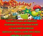 #Ticket  10 COUPON BUONO 21 5 GARDALAND & 5 SEALIFE 5 PAGA  5 INGRESSI GRATIS 31.03.17 #Ostereich