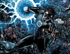 Hal Jordan returns as leader of the Black Lantern Corps  - Green Lantern #20