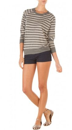 Stripe Bateaux Tee >> Loving this outfit!