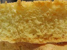 Бисквит на желтках
