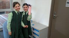 Creating an artificial limb.
