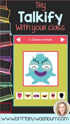 Talkify is an interactive resource from ABCYa.com that is my new favorite tool for my non-readers. After we read a story (this works with any text) I have my students use Talkify to answer some questions about the text. I created a choice board with 9 opt