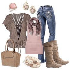 Blushing Pink, created by smores1165 on Polyvore