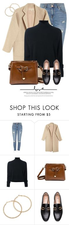 """""""College"""" by monmondefou ❤ liked on Polyvore featuring River Island, Mara Hoffman and Le Kasha"""