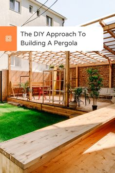 Got plans to build a beautiful pergola for your backyard? You're in luck! Here's our step by step guide to building a pergola, check it out and get started. Building A Pergola, Pergola Plans, Diy Pergola, Small Outdoor Patios, Outdoor Spaces, Outdoor Living, Budget Patio, Home Landscaping, Diy Home Decor On A Budget