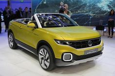 #Volkswagen T-Cross Breeze Concept, presentado en el Salón de Ginebra 2016 #SUVs #conceptcar #motor #autos #coches #carros
