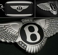 Worlod's most expensive car keys Bentley Diamond Key Bentley Logo, World Expensive Car, Low Car Insurance, Expensive Champagne, Continental Cars, Vito, Think And Grow Rich, Porsche Cars, Models
