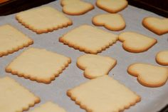 EUROPEAN BUTTER COOKIEs