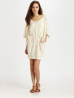 Linen dresses with bell sleeves google search my dress for Saks fifth avenue wedding dresses los angeles