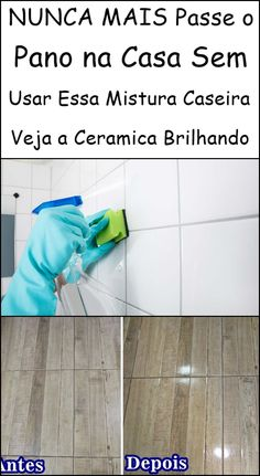 Clean House, Tile Floor, Cleaning, Flooring, Decorative Bird Houses, Non Slip Floor Tiles, Homemade Hair Removal, Household Cleaning Tips, Home Organization Tips