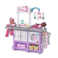 Step2 Love & Care Deluxe Nursery Kids Playset is a toy our 6 year old girl loves to play with. These are super popular toys!