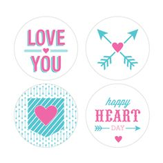 Valentines Day Printables by I Heart to Party