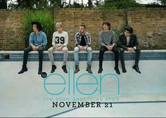 1D IS GONNA BE ON ELLEN!!!!
